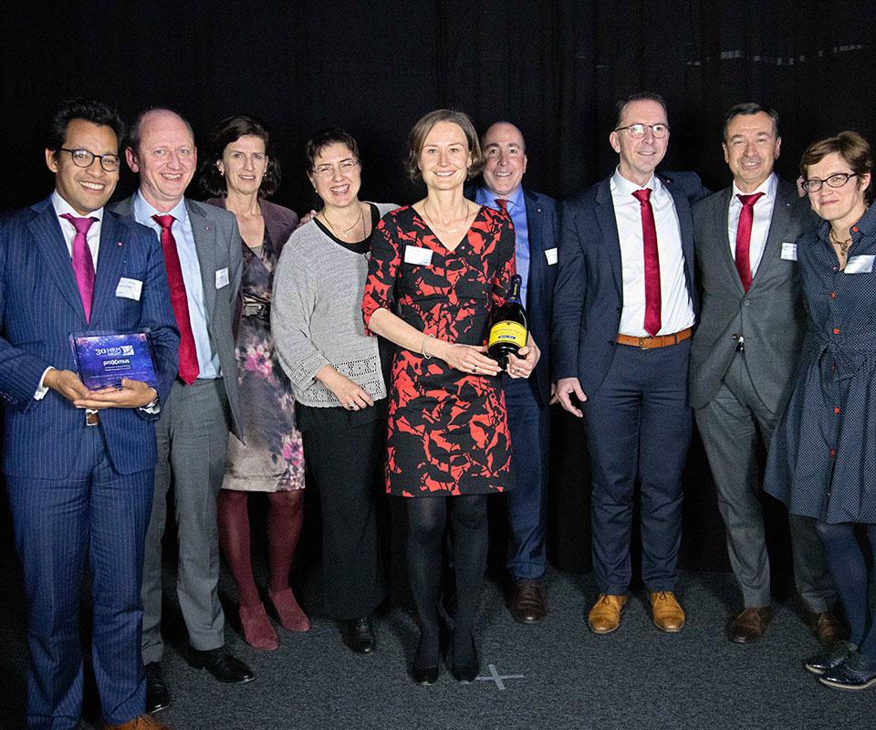 Proximus People Innovation Award 20189 : Belfius
