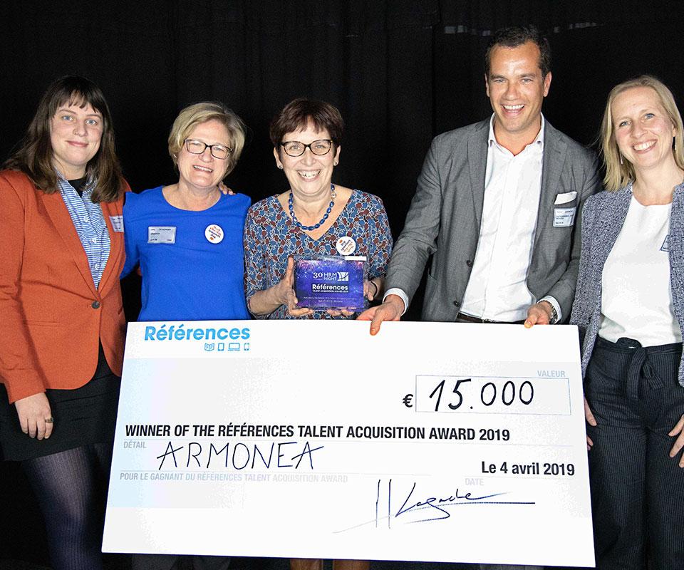 Références Talent Acquisition Award 2019 : Armonea